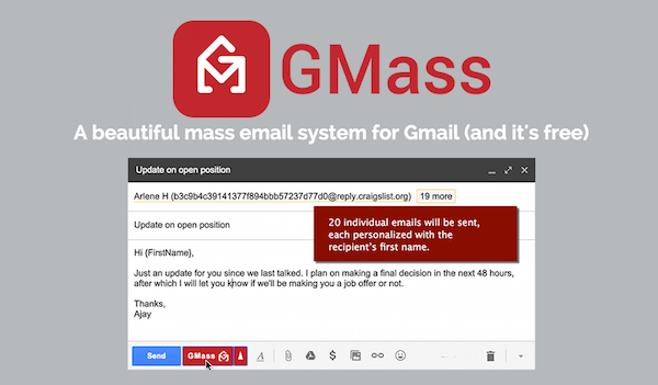 GMass: Send Mass Emails Using Gmail in Chrome - The Meltdown Show