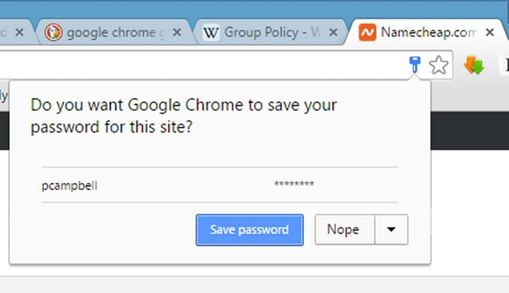 save chrome