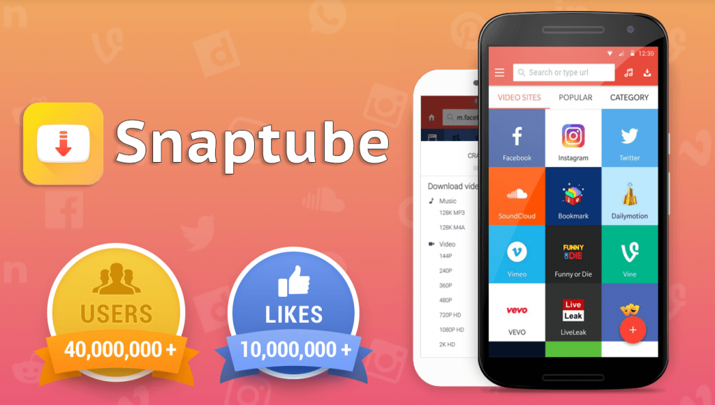 SnapTube - YouTube Downloader, is A Simple Tool To Download Any
